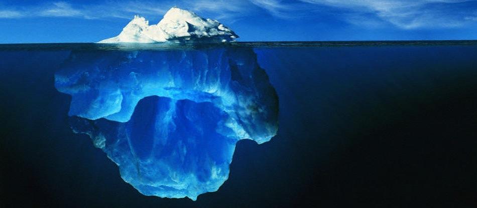 iceberg énergie grise