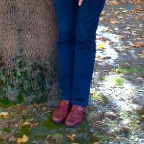 Jacqueline Lavanchy - chaussure rouge